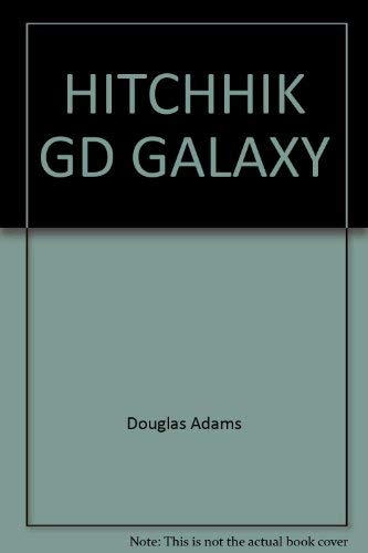 Hitchhiker's Guide to the Galaxy (Hitchhiker's Trilogy: Adams, Douglas