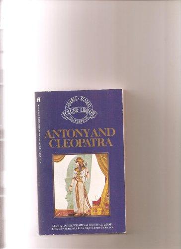 9780671477110: Antony and Cleopatra (The New Folger Library Shakespeare)