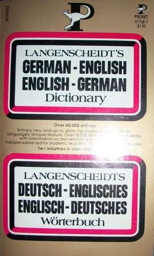 Langenscheidt's German English Dictionary: Langenscheidt Staff