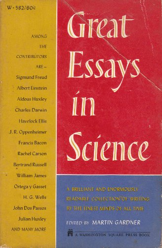 9780671478032: Great Essays in Science