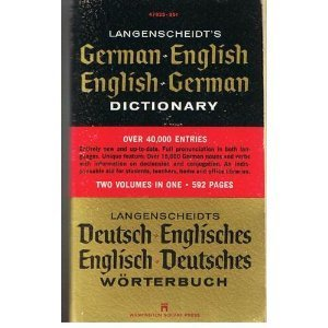 LAngenscheidt's German-English English/German Dictionary (0671478257) by Langenscheidt Editorial Staff; Langenscheidt Editorial Staff