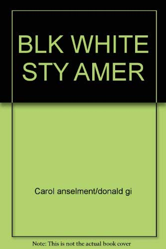 9780671478391: Black & White Stories of American Life
