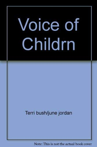9780671478667: Voice of Childrn