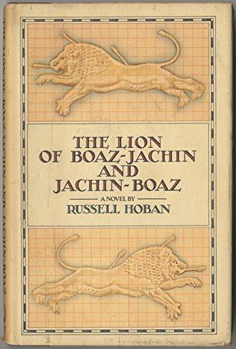9780671479299: The Lion of Boaz-Jachin and Jachin-Boaz