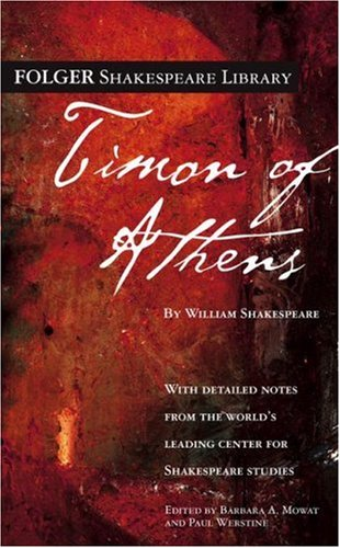 9780671479558: Timon of Athens (Folger Shakespeare Library)