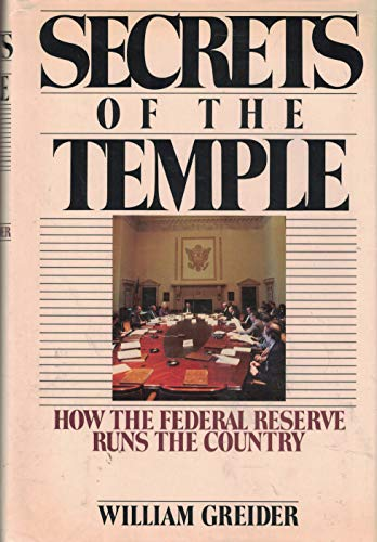 a literary analysis of from secrets of the temple by william greider Money and modernity the philosophy of literary form greider, william secrets of the temple: how the federal reserve runs the country.