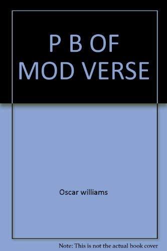 9780671481124: A Pocket Book of Modern Verse