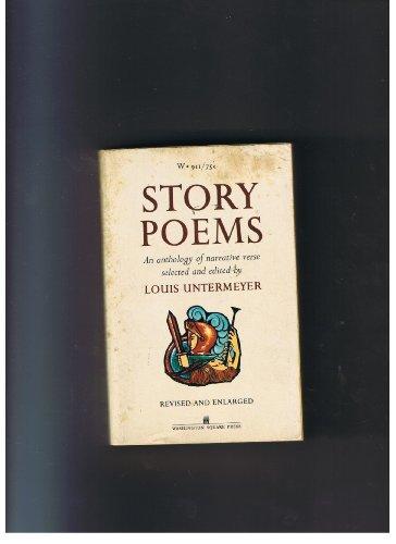 9780671481865: Story Poems: An anthology of narrative verse