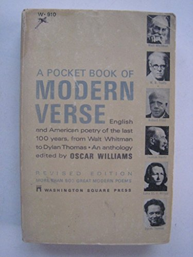 A Pocket Book of Modern Verse: Oscar williams