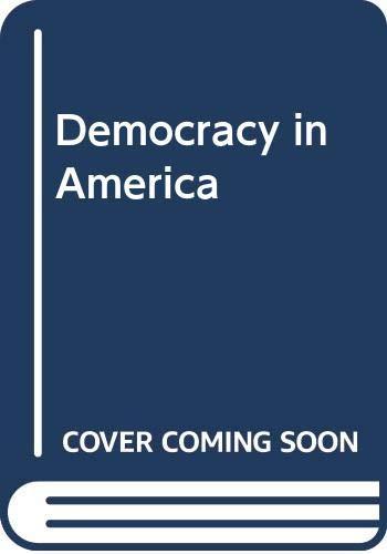 9780671487959: Democracy in America