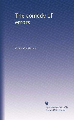 9780671488093: Comedy of Errors
