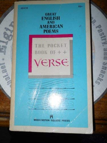 9780671489182: The Pocket Book of Verse: Great English and American Poems