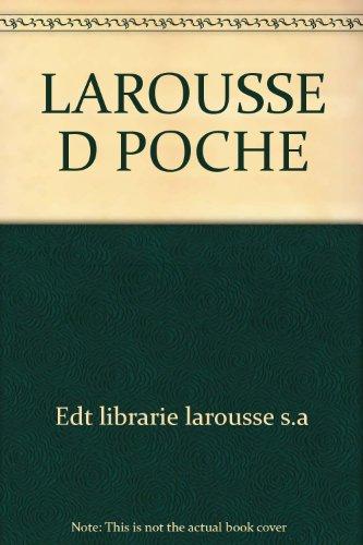 LaRousse de Poche Dictionnaire Francais: Librairie LaRousse