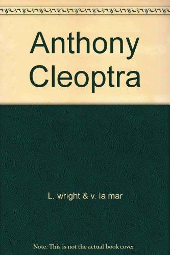 9780671489380: Anthony Cleoptra