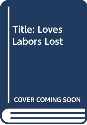 Love's Labor's Lost (9780671491154) by William Shakespeare