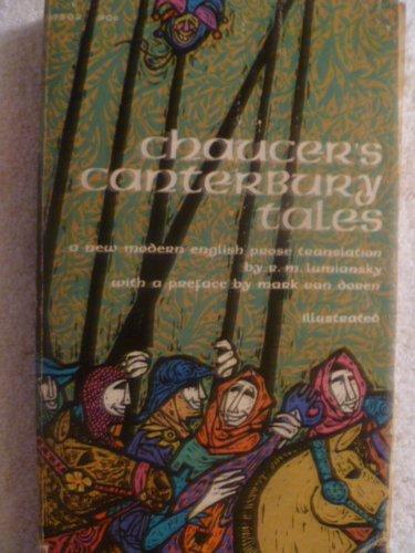THE CANTERBURY TALES: Chaucer, Geoffrey ( R M Lumiansky, translation & Mark Van Doren, intro )