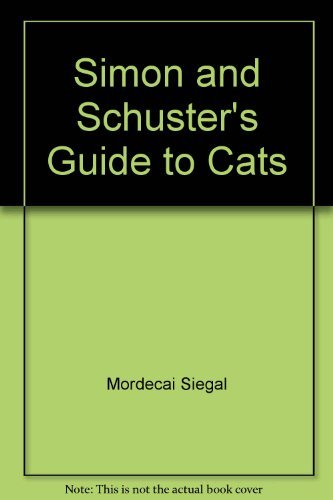 9780671491673: S&S Guide to Cats