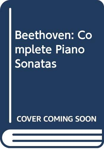 9780671491987: 001: Beethoven: Complete Piano Sonatas, Vol. 1, Sonatas 1-17 (English, Spanish, Italian, German and French Edition)