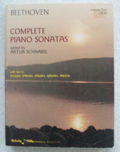 9780671491994: Beethoven: Complete Piano Sonatas, Vol. 2