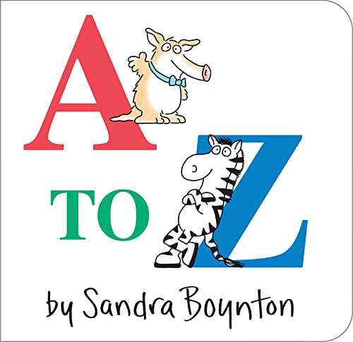 9780671493172: A To Z (Boynton Board Books (Simon & Schuster))
