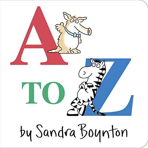 9780671493172: A To Z (Boynton Board Books (Simon & Schuster))