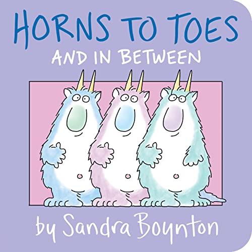 9780671493196: Horns to Toes (Boynton Board Books (Simon & Schuster))