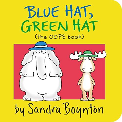 9780671493202: Blue Hat, Green Hat (Boynton on Board)