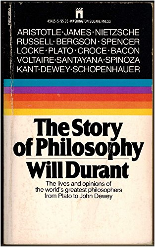 The Story of Philosophy: Durant, Will