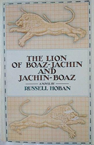 9780671495473: The Lion of Boaz-Jachin and Jachin-Boaz