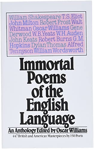 9780671496104: Immortal Poems of the English Language