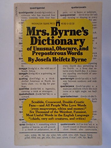 9780671497828: Mrs Byrnes Dictionary