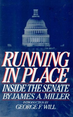 9780671499280: Running in place: Inside the Senate