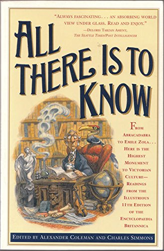 9780671500054: All There Is to Know: Readings from the Illustrious 11th Edition of the Encyclopedia Britannica