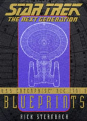 9780671500931: U.S.S. Enterprise Ncc-1701-D Blueprints: Star Trek : The Next Generation