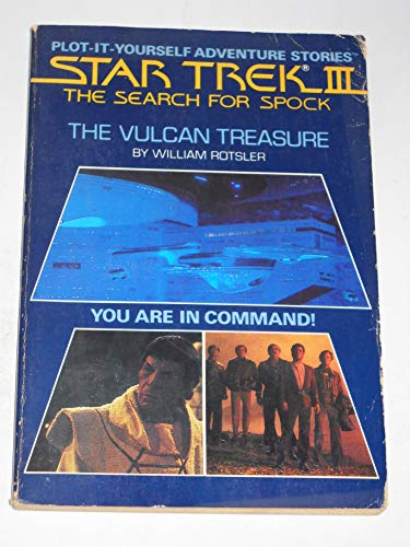 9780671501389: The Vulcan Treasure (Star Trek III the Search for Spock Plot-It-Yourself Adventure Stories)