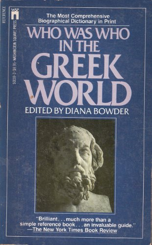 Who Was Who in the Greek World: Bowder