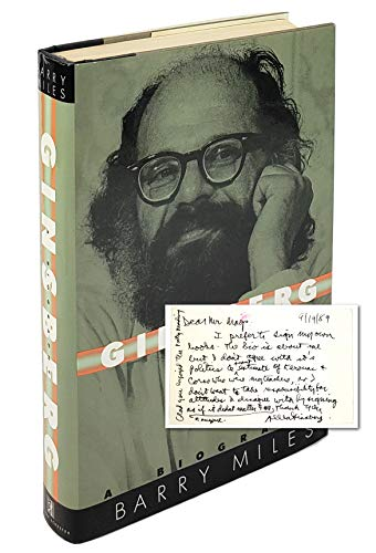 Ginsberg: A Biography (0671507133) by Barry Miles