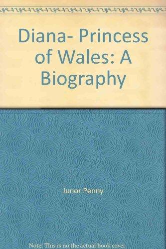 9780671508517: Diana, Princess of Wales: A biography