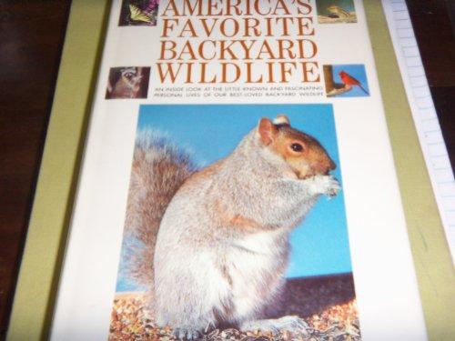 9780671509675: America's Favorite Backyard Wildlife