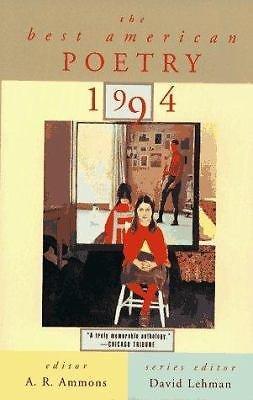 9780671510046: Best American Poetry 1994