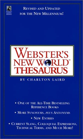 9780671519834: Webster's New World Thesaurus