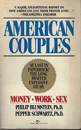 9780671523534: American Couples: Money-Work-Sex