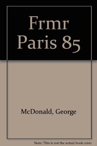 Frmr Paris 85: McDonald, George