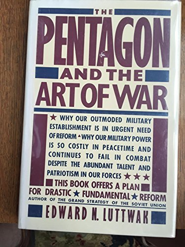 9780671524326: The Pentagon and the Art of War: The Question of Military Reform