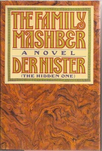 "9780671527686: The Family Mashber: A Novel by ""Der Nister""/""the Hidden One"""