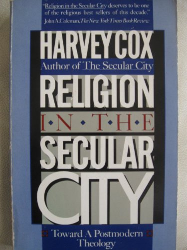 9780671528058: Religion in the Secular City: Toward a Postmodern Theology
