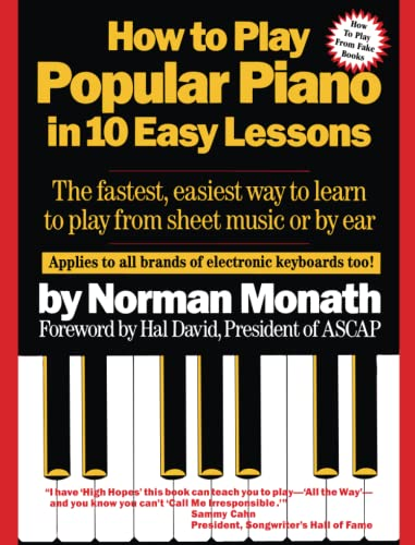 9780671530679: How to Play Popular Piano in 10 Easy Lessons: The Fastest, Easiest Way to Learn to Play from Sheet Music or by Ear