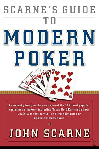 9780671530761: Scarne's Guide to Modern Poker
