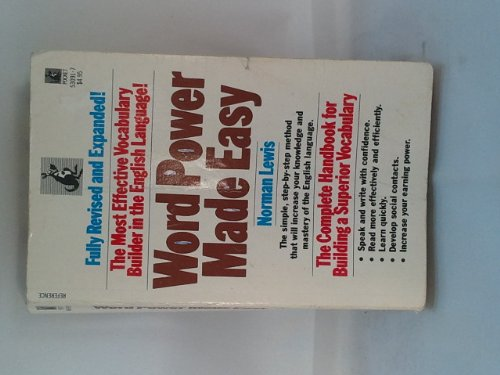 9780671530914: Word Power Made Easy