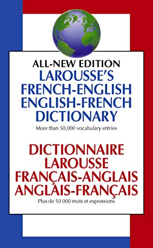9780671534073: Larousse's French-English, English-French Dictionary: Dictionnaire Larousse Francais-Anglais, Anglais-Francais
